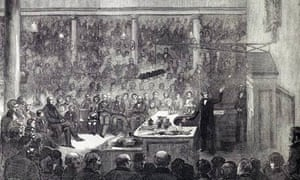 Illustration: Michael Faraday's 1855 Christmas Lecture