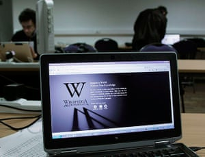 2012 in Science:  Wikipedia blacked out opening page in Brussels