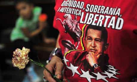 Venezuelans pray for Chavez in Managua