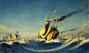 A Convoy, by Herbert Barnard John Everett