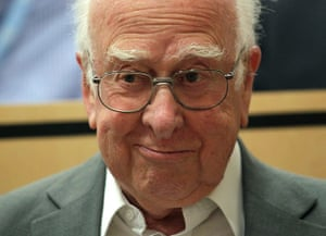 2012 in Science: British physicist Peter Higgs