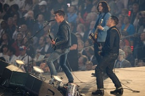 Observer critics' review of year: Arctic Monkeys at Olympic Games