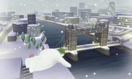 The Snowman and the Snowdog game