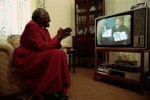 Mandela: 1993: Archbishop Desmond Tutu
