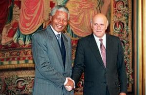 Nelson Mandela: 1993: Nelson Mandela and Frederik de Klerk