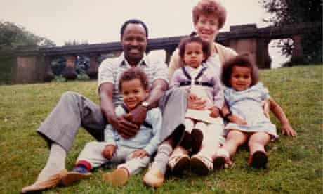 lanre bakare and family