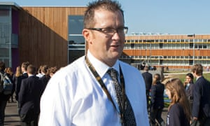 Vic Goddard, headteacher at Passmores Academy, Harlow
