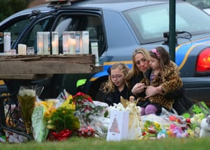 Sandy Hook: Parishioners pay their respects to the victims