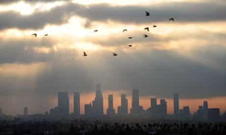 Los Angeles in California, which has some of the worst air quality in the US