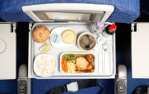 Christmas Dinners: Christmas Dinner on British Airways flight