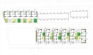ground floor plan of the development