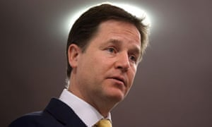 Nick Clegg Speech Creates Distance From Tory Coalition Partners