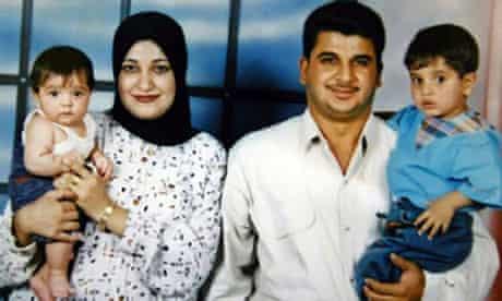 Baha Mousa and family