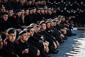 24 hours in pictures: Hamas' Palestinian National Security graduation