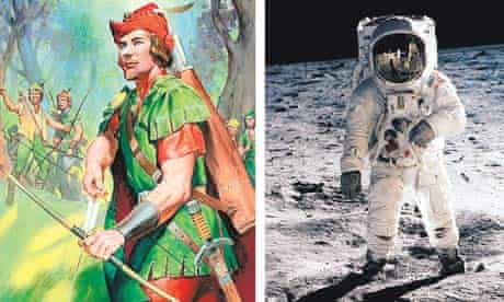 What became of Robin's friend? And which event this year recalled the first moon landing?