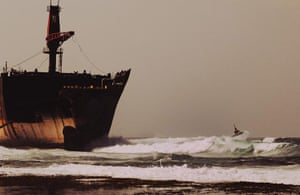BT 2012 gallery winners: supertanker had been washed on to the reef off Sumatra, Indonesia