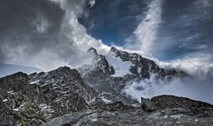 BBC Africa : Snow-capped Mount Stanley