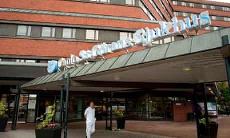 St Göran hospital in Stockholm