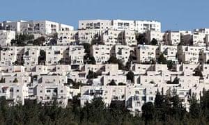 Ramat Shlomo, a Jewish settlement in East Jerusalem