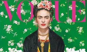 Frida Kahlo Vogue Mexico