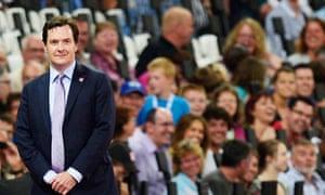 George Osborne at the Paralympics