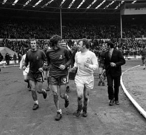 Leeds and Chelsea: Lap of honour