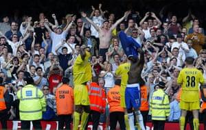 Leeds and Chelsea: Leeds supporters