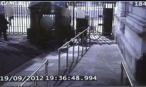 Plebgate incident CCTV still