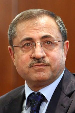 Syria's interior inister Mohammed al-Shaar.