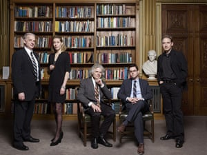 Observer Photography: Science Writers