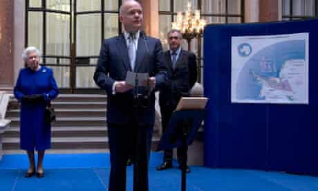William Hague Queen Elizabeth land