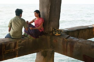 Life of Pi: Pondicherry pier