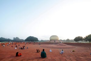 Life of Pi: Matrimandir, Auroville, Pondicherry