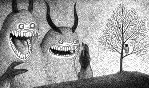 Sticky Monsters: Sticky Monsters drawing