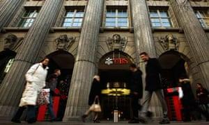 UBS building in Zurich