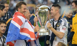 MLSCup: Beckham and Keane