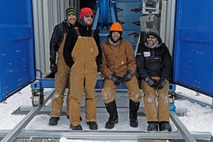 British Antarctic Survey: Break time for the Deep Field team