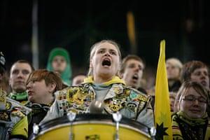 Borussia Dortmund: Female fan