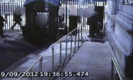 Andrew Mitchell 'plebgate' CCTV