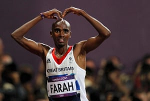Pics of the Year 2012: Mo Farah by Mark Blinch