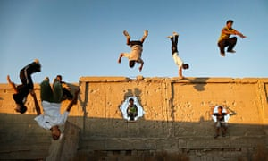 Pics of the Year 2012: Parkour in Gaza by Ali Ali