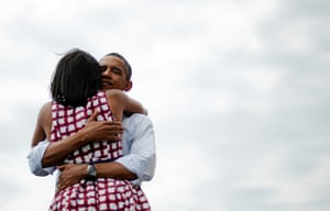 Pics of the Year 2012: The Obamas by Jim Watson