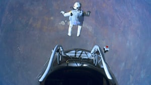 Pics of the Year 2012: One small step Red Bull Stratos photograph