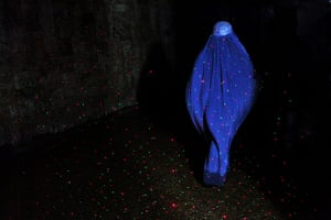 Pics of the Year 2012: Woman in laser burqa by Seamus Murphy