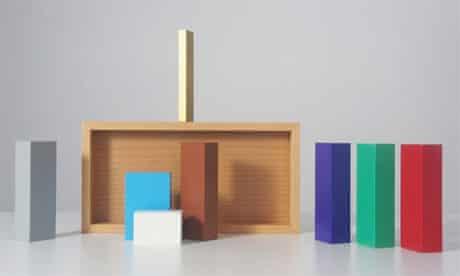 minimalist Colour Nativity set by Sebastian Bergne