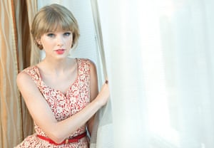 Portraits of 2012: Singer songwriter Taylor Swift
