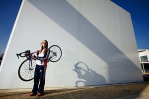 Portraits of 2012: Laura Trott at the Manchester Velodrome