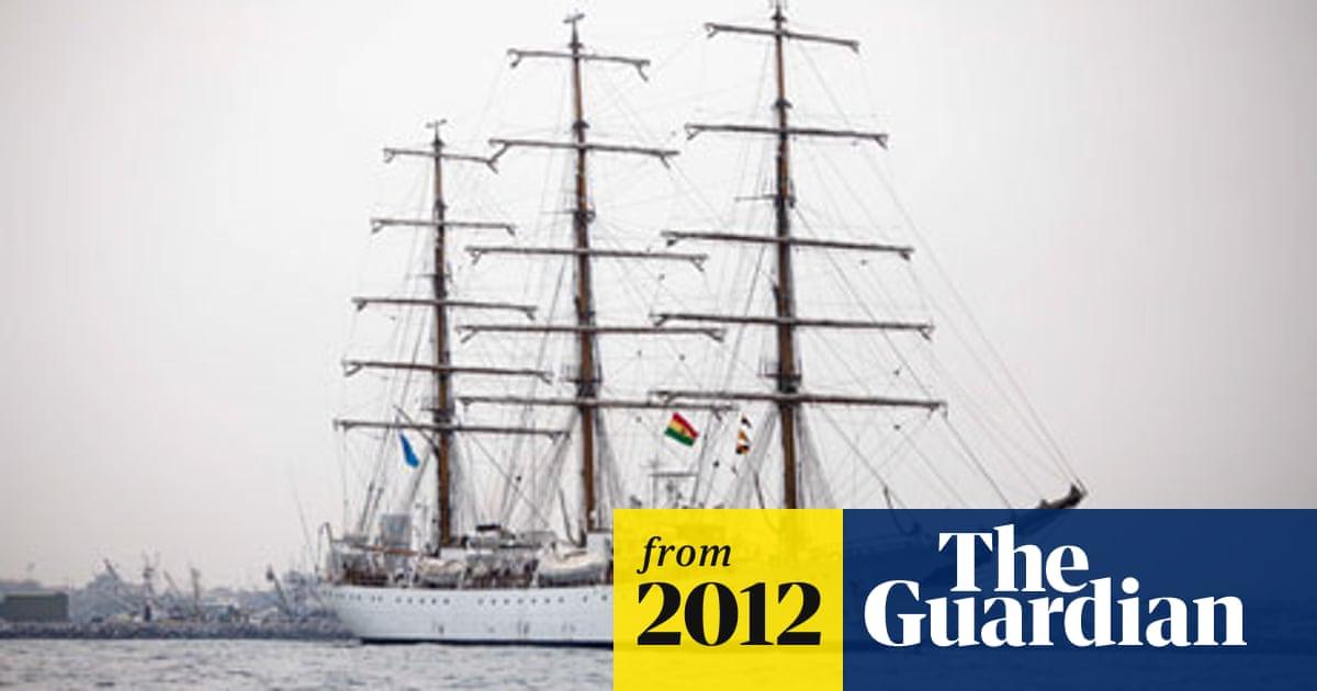 Seized Argentinian sailing ship leaves Ghana   World news