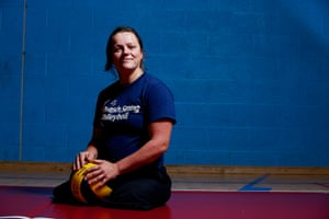 Portraits of 2012: London 2012 Paralympic volleyball team player Martine Wright
