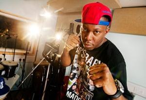 Portraits of 2012: Rapper Dizzee Rascal
